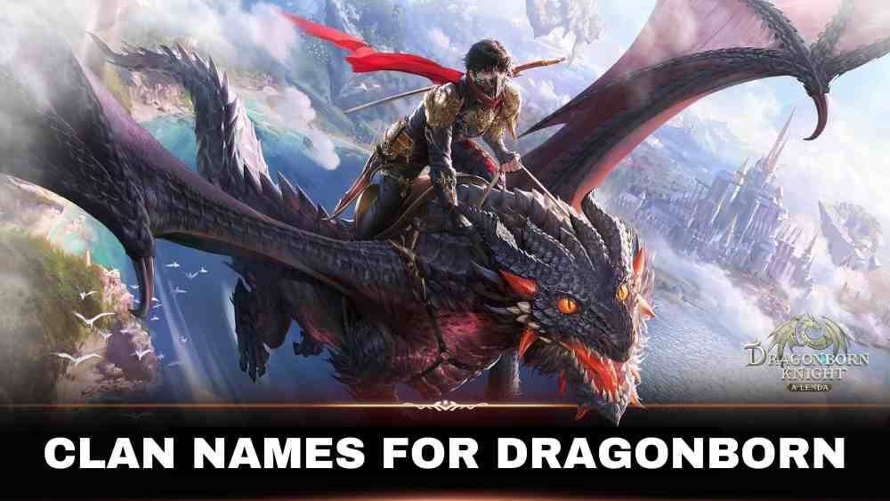 Clan Names for Dragonborn