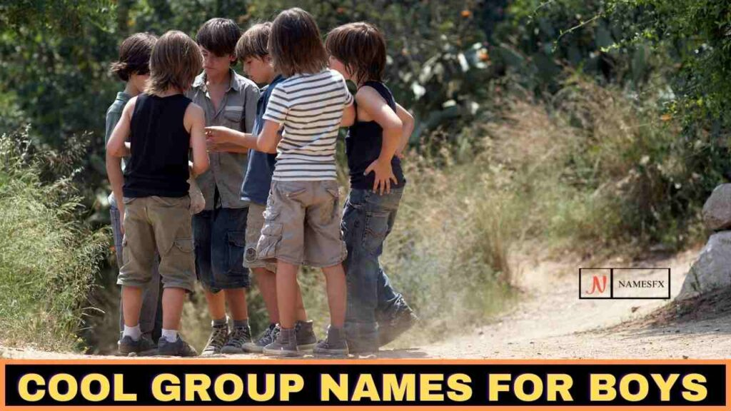 Cool Group Names For Boys,