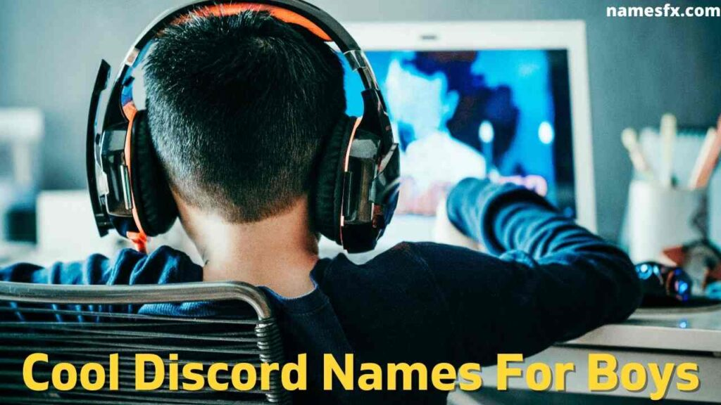 Cool Discord Names For Boys