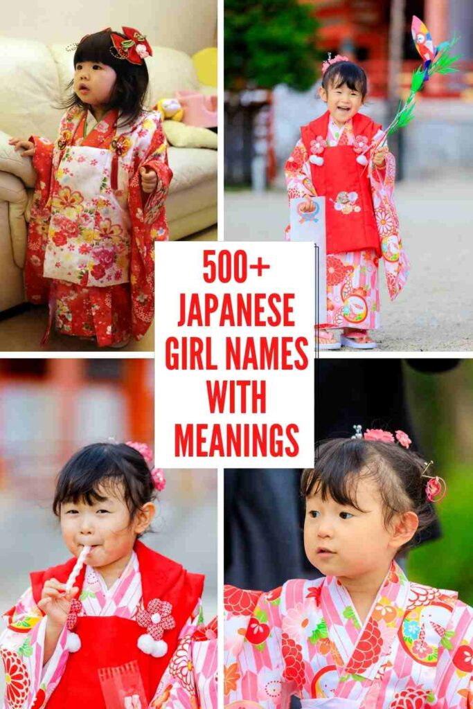 500+ Japanese Girl Names with Meanings